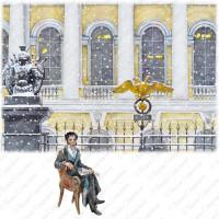 Карло Росси (1775 — 1849), Михайловский дворец (1819 — 1825).