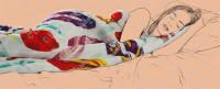 Одеяло STRATUM. Рисунок для главной страницы.