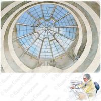 Фрэнк Ллойд Райт. Музей Гуггенхайма. Нью-Йорк. 1943-59 г.