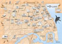 Карта центральной части Ярославля