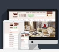 Адаптивная верстка сайта по продаже мебели