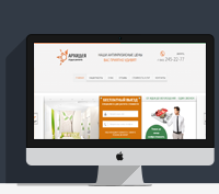 Верстка сайта Архидеа