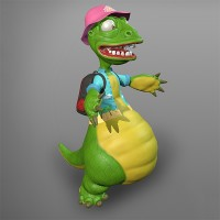 Dragon_Character (игровая модель)