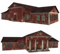 Сельский клуб (Игровая модель)