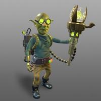 Researcher_Character (Игровая модель)