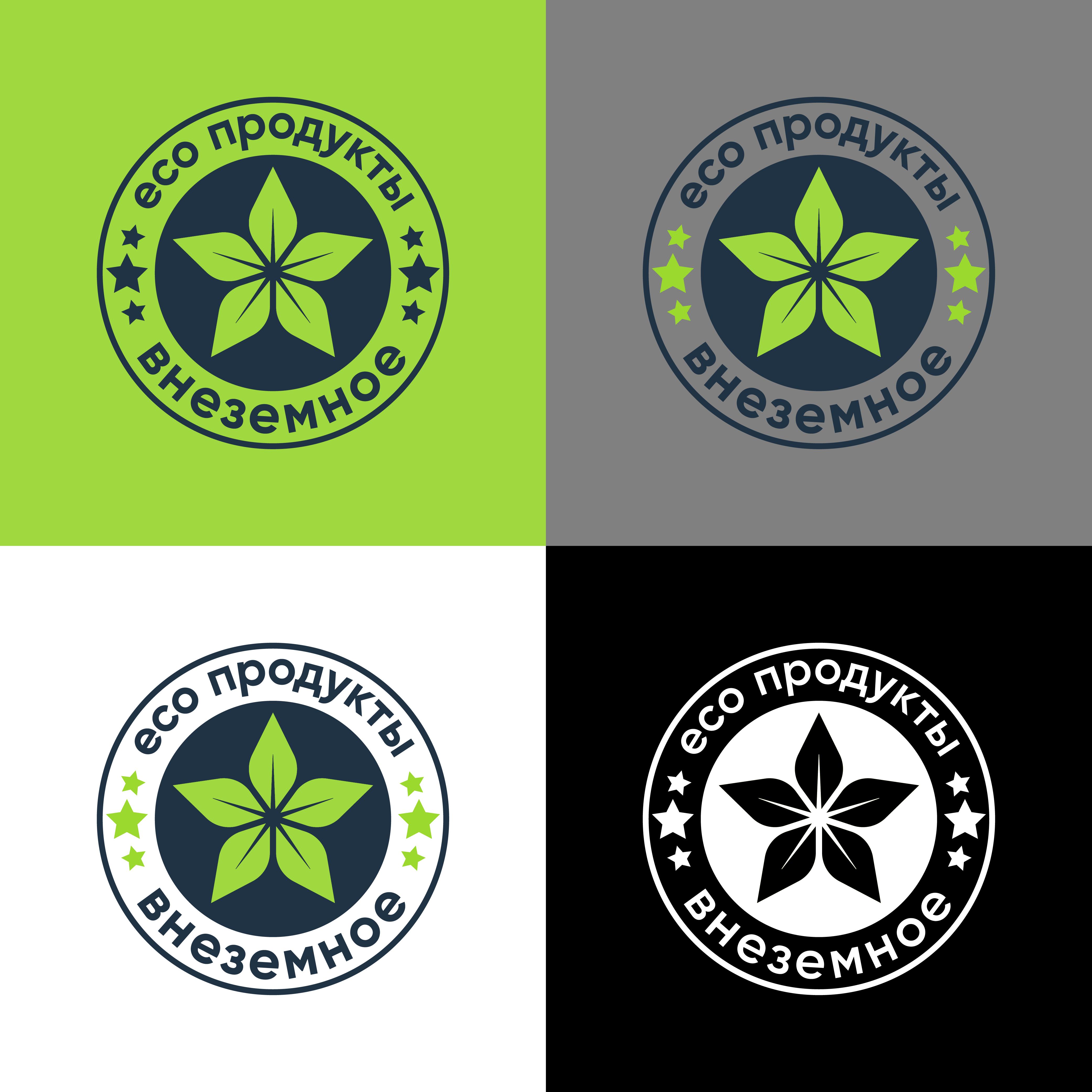 """Логотип и фирменный стиль """"Внеземное"""" фото f_4905e792601c3b5e.png"""