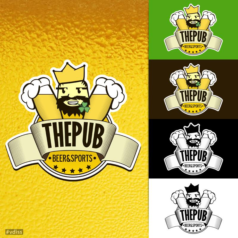"Разработка логотипа торговой марки ""THEPUB"" фото f_61051f9119c7b5ce.jpg"