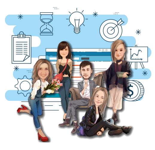 Нарисовать шарж на команду ITшных проджект менеджеров фото f_8245dcd9378ebf4f.jpg