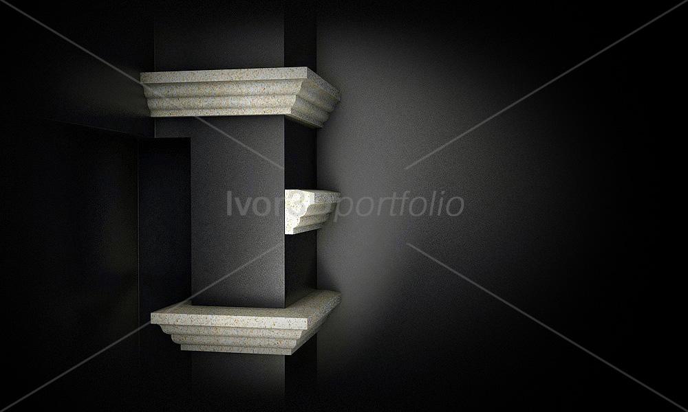 Карниз декоративный для интерьера/экстерьера