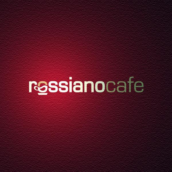 Логотип для кофейного бренда «Rossiano cafe». фото f_18757b9f1c79b765.png