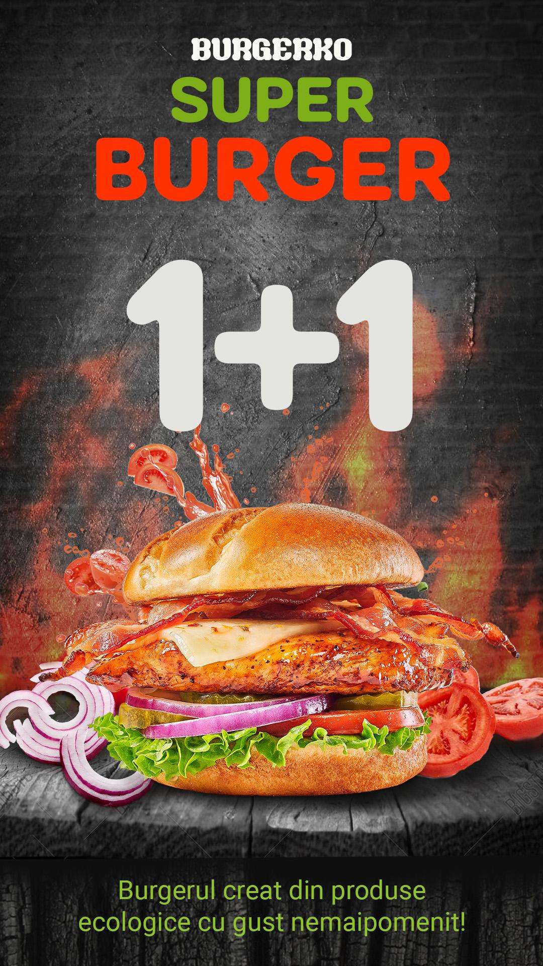Burgerko Burger Banner