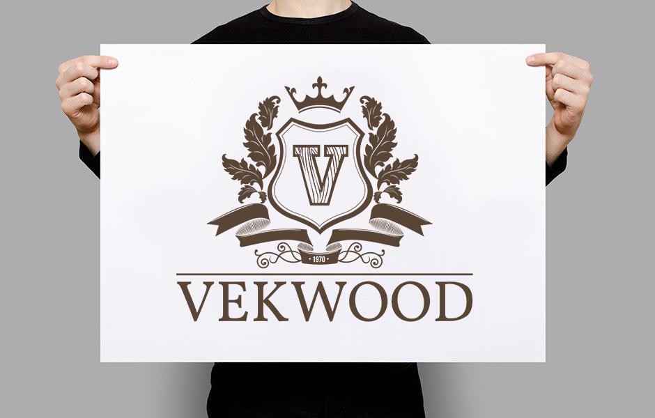 ЛОГОТИП для компании по продаже бревен VEKWOOD