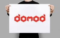 ЛОГОТИП для компании по производству модульных домов DOMOD