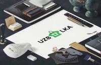 ПРОЦЕСС СОЗДАНИЯ ЛОГОТИПА для компании по оптовой продаже футболок UZBOLKA