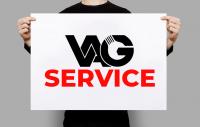 ЛОГОТИП для автомастерской VAG SERVICE