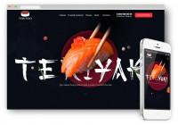 """Интернет магазин для компании """"Teriyaki"""""""