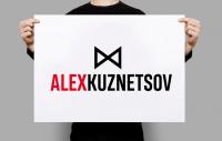 ЛОГОТИП для ведущего праздничных мероприятий ALEX KUZNETSOV