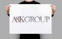 ЛОГОТИП для юридической компании AK GROUP