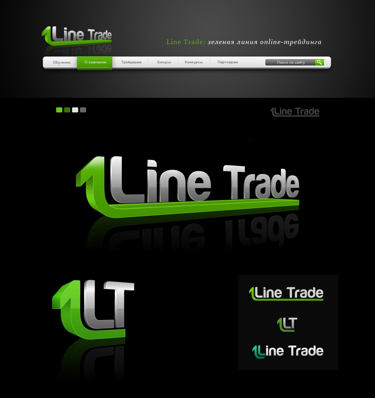 Разработка логотипа компании Line Trade фото f_26450fb4b09b713a.jpg