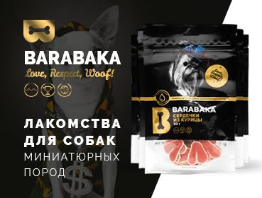 """Баннеры продукции для """"Barabaka"""""""