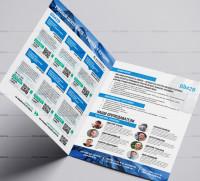Верстка листовки для печати