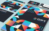 Фирменный стиль и лого для инновационной компании
