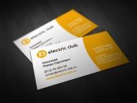 electric club (визитки личные)