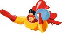 супермен по доставке воды