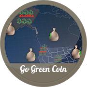 Продающий ролик, 3D, ICO Go Green Coin