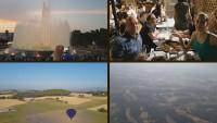 Видеомонтаж, путешествие на воздушном шаре