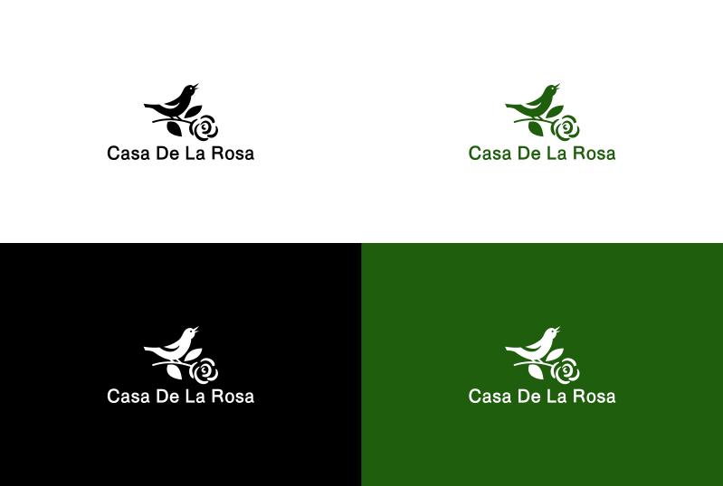 Логотип + Фирменный знак для элитного поселка Casa De La Rosa фото f_1625cd5af0739469.png