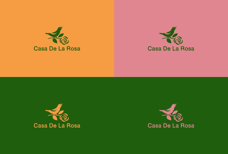 Логотип + Фирменный знак для элитного поселка Casa De La Rosa фото f_5285cd5af20bdbc3.png