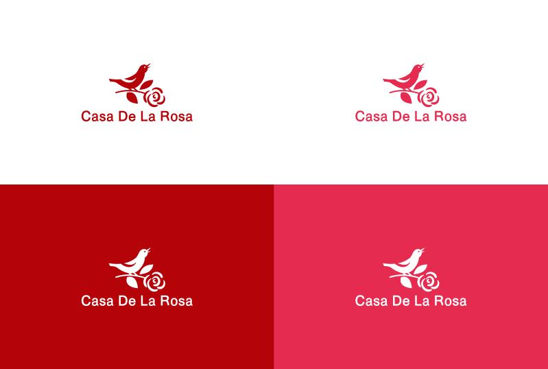 Логотип + Фирменный знак для элитного поселка Casa De La Rosa фото f_7365cd5af162379a.png