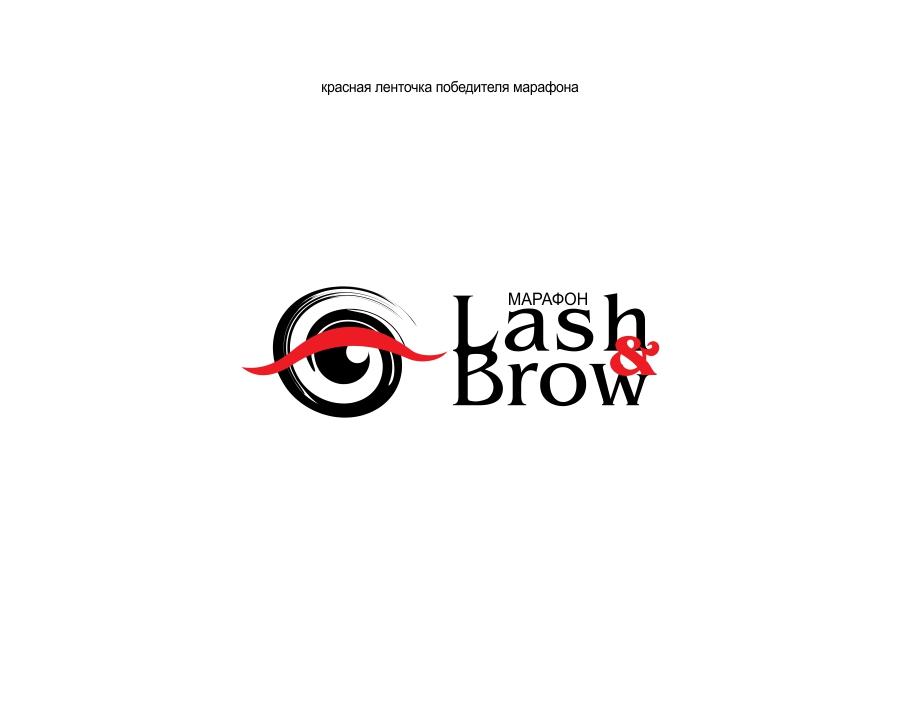 "Создание логотипа мероприятия ""Марафон Lash&Brow"" фото f_85358f647981ebd5.jpg"