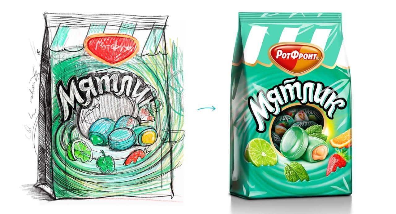 Разработка дизайна упаковки для мятной карамели от Рот Фронт фото f_13459ef81b435a5e.jpg