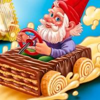 Сказочный гном - вафельная конфета
