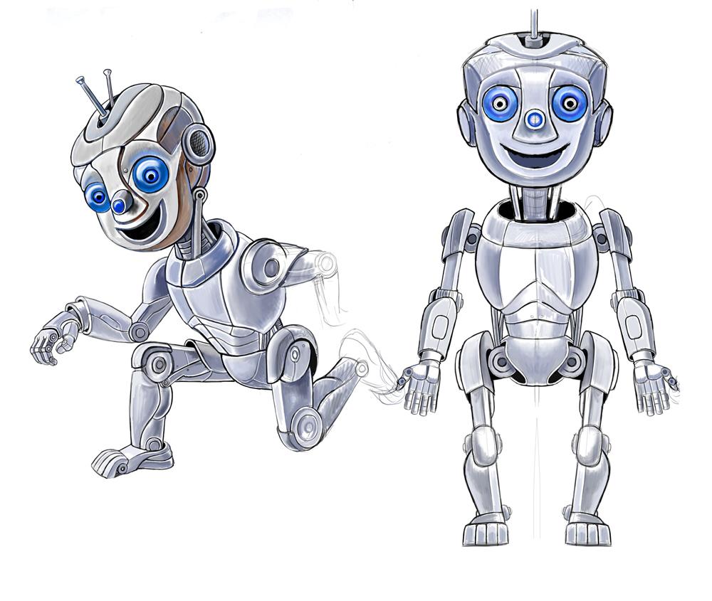 "Модель Робота - Ребёнка ""Роботёнок"" фото f_4b4ac7e77485c.jpg"