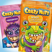 Упаковка для орехов Crazy Nuts