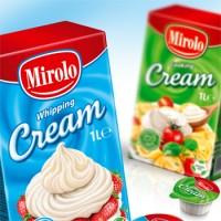 Mirolo -  упаковка сметана