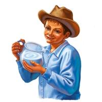 Мальчик с молоком