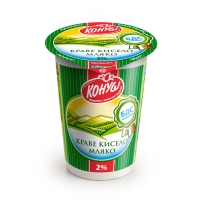 Кислое молоко Конуш - 2% жирность