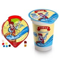 Болгарское молоко. Эскиз и упаковка