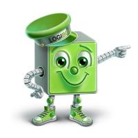 Logi Box - фирменный персонаж