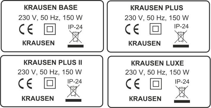 """Этикетка для фирмы """"Krausen"""""""