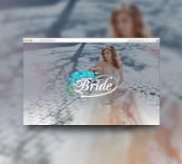 Сайт-каталог для салона свадебных платьев и аксессуаров Bride