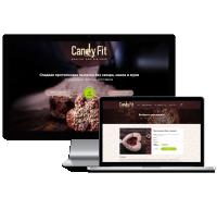 Дизайн для интернет-магазина протеиновой выпечки