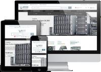 Адаптивная верстка интернет-магазина Server Shop