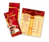 Чайная карта для ресторана Анталия