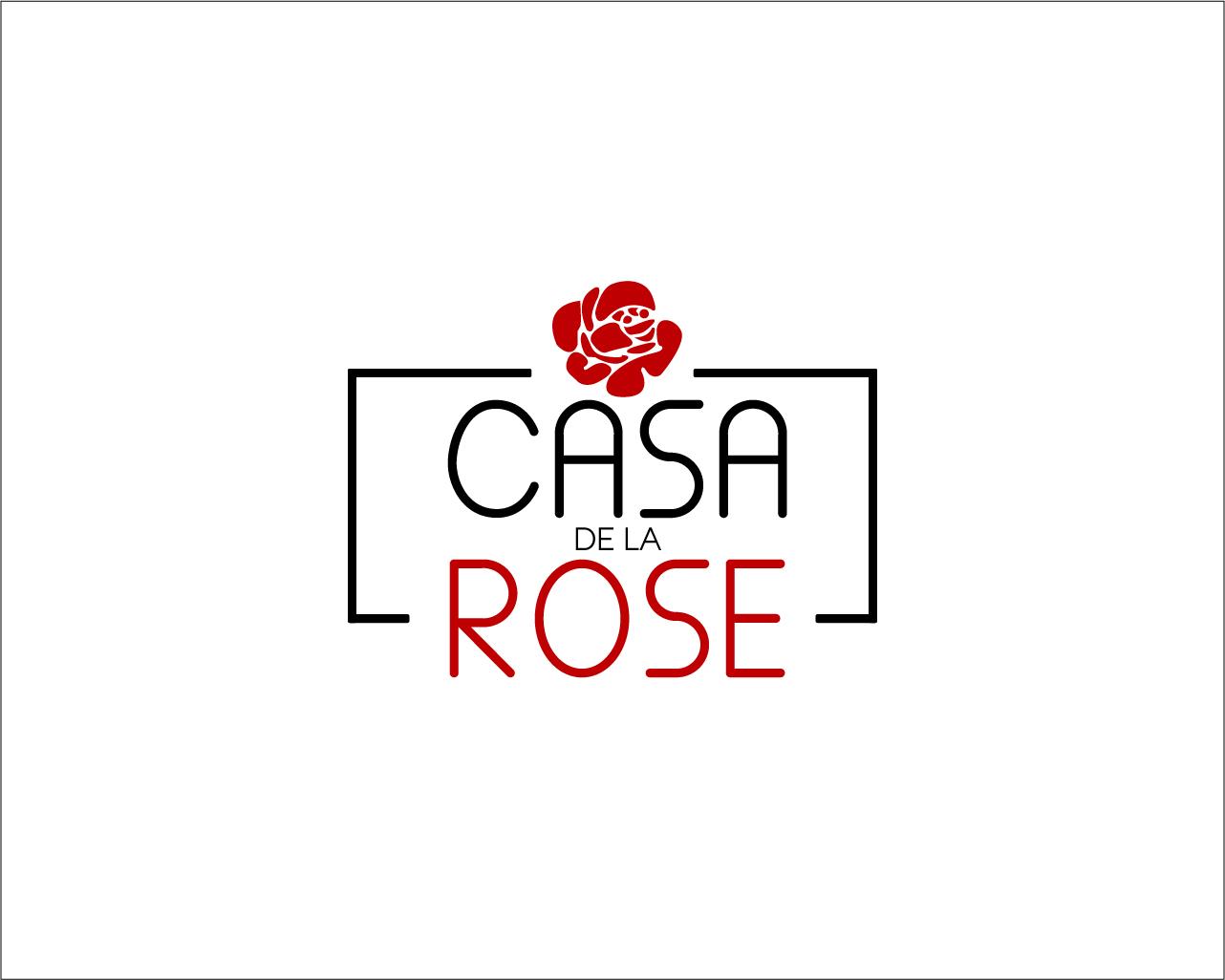 Логотип + Фирменный знак для элитного поселка Casa De La Rosa фото f_0715cd465b522144.jpg