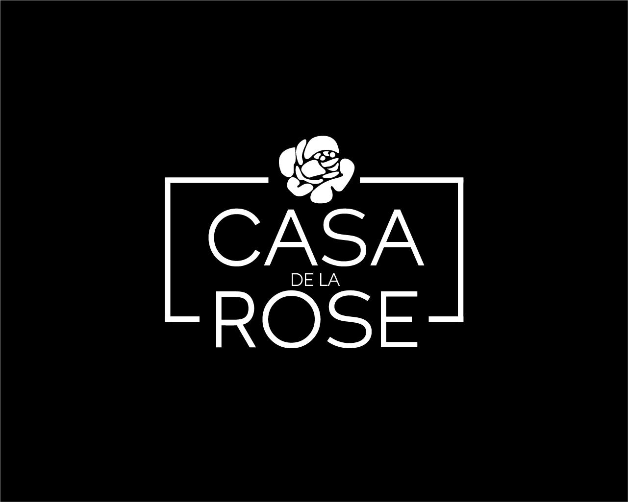 Логотип + Фирменный знак для элитного поселка Casa De La Rosa фото f_2275cd465d0179ae.jpg